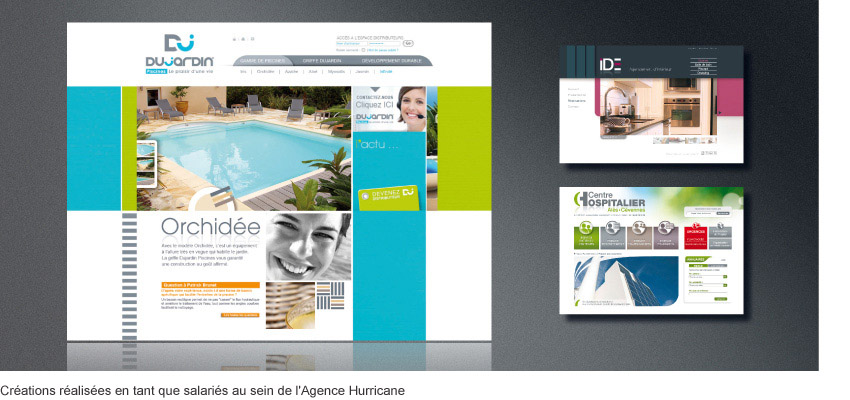 Madame Monsieur : Design de sites internet